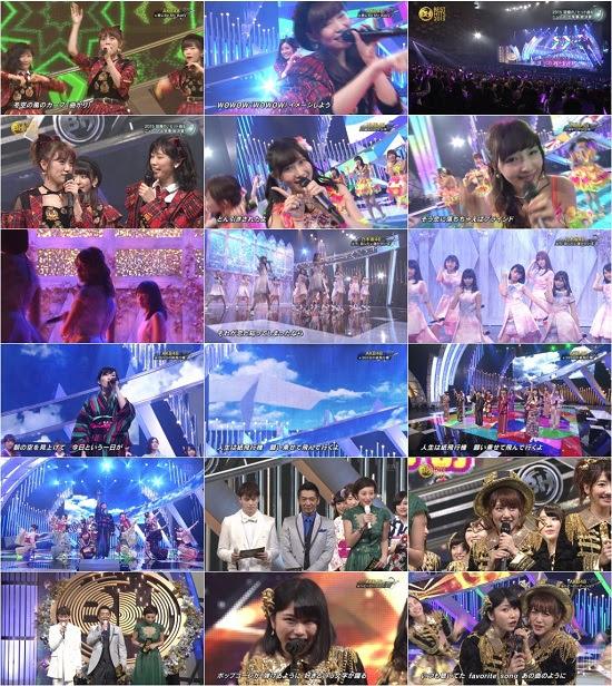 (TV-Music)(1080i) AKB48 NMB48 乃木坂46 – ベストヒット歌謡祭2015 151119