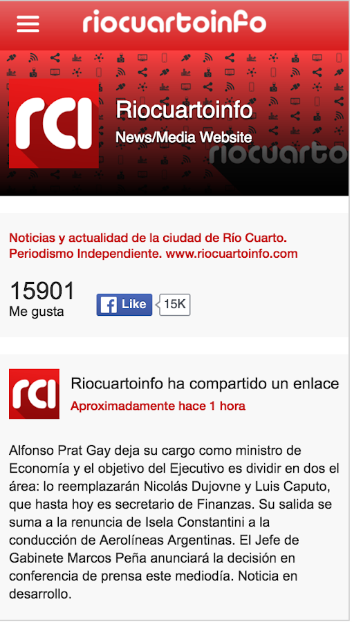 RioCuartoInfo.com- screenshot