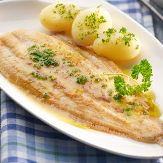 Sole Fillets with Parmesan Cheese (Mornay) Sauce