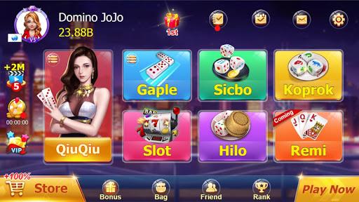 ZIK Domino QQ 99 QiuQiu KiuKiu Online  captures d'écran 1