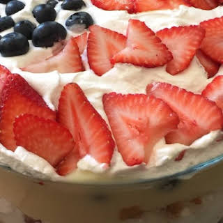 Berry Cheesecake Trifle.