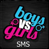 Boys vs Girls Jokes SMS