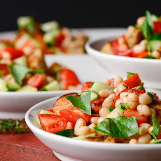Panzanella With White Beans