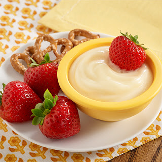 White Chocolate Lemon Fruit Dip