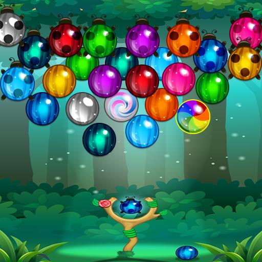 解谜のシューターバブルウッドランド LOGO-記事Game