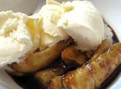 Baked Bananas Calypso Style Recipe