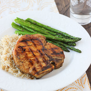 Sweet & Sour Balsamic Glazed Pork Chops {Gluten-Free, Paleo}