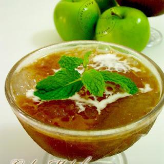 Gula Melaka Sago Pudding