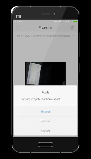 MIUI Custom Font Installer 1.2 screenshots 7