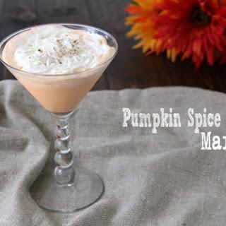 Pumpkin Spice Cake Martini.