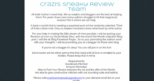 Crazi's Sneaky Review Team