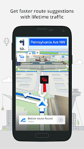 Most Reliable GPS App : Sygic 3