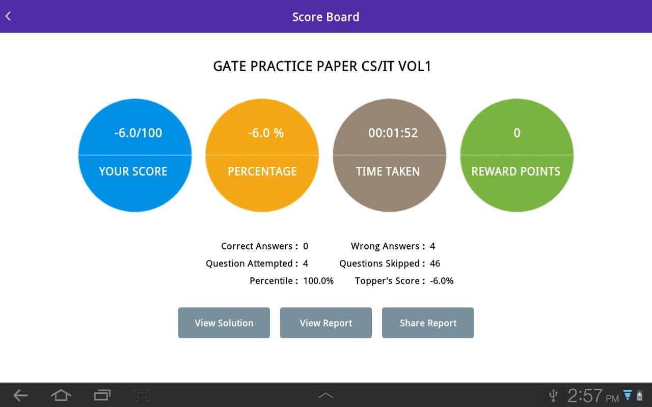 iCompete - Gateway of Success- screenshot