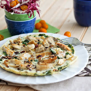 Chicken Apple Egg White Omelet.