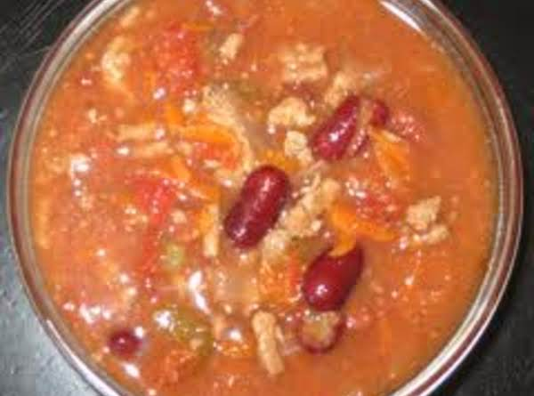 Three Bean Turkey Chili Recipe