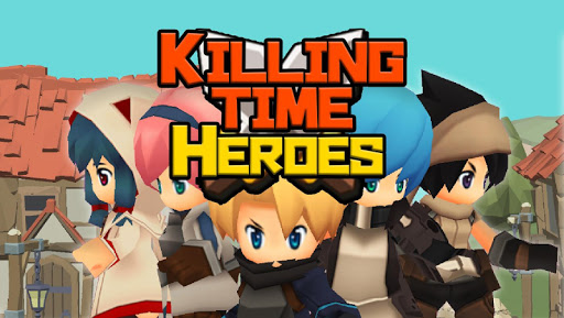 Killing Time Heroes  - The RPG - captures d'u00e9cran 1