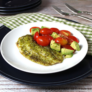 Tilapia with Classic Pesto