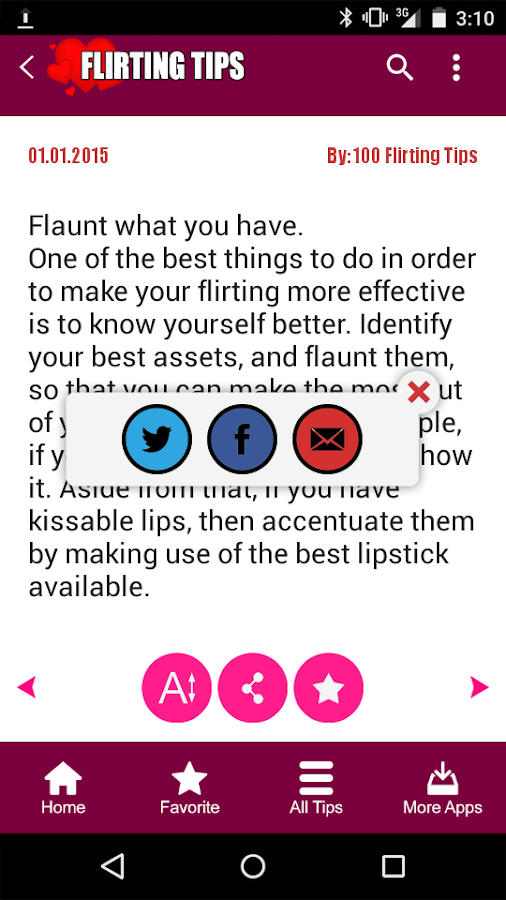 top flirting apps keep