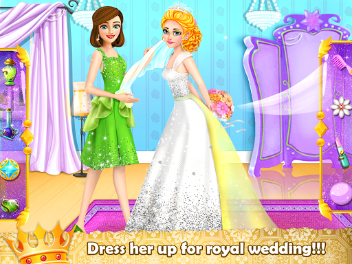 Royal Princess Wedding Makeover and Dress Up  captures d'écran 3