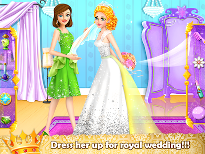 Royal Princess Wedding Makeover and Dress Up - náhled