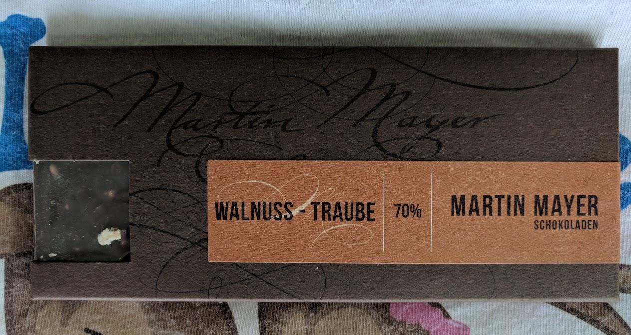 70% Walnuss Mayer Bar