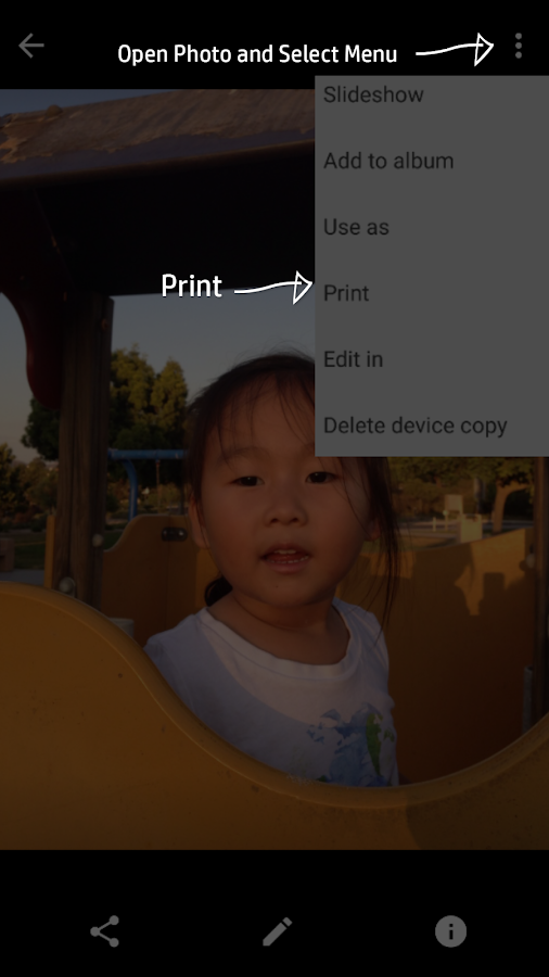 HP Print Service Plugin- screenshot
