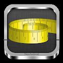 Tape measure (cm, inch, Free) icon