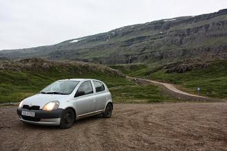 Photo: Piąty uczestnik wyprawy - Toyota Yaris. Pokonała nawet 4WD road only na Landanmannlaugar.