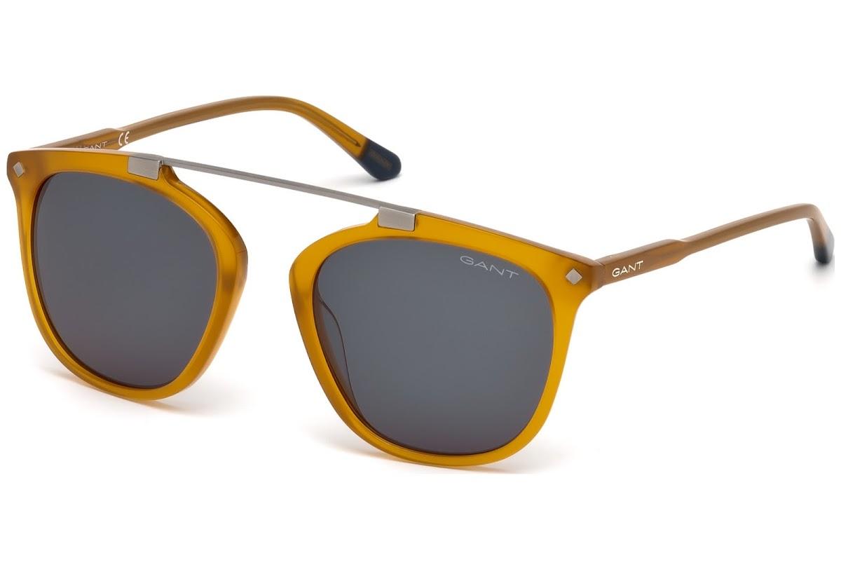GANT GA7086 C52 42A (shiny orange / smoke) Sonnenbrillen nrPFc00