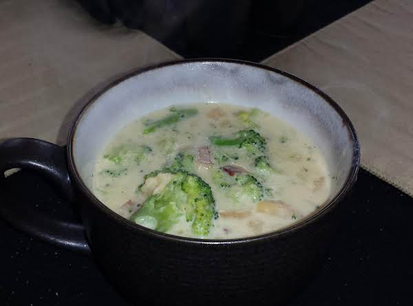 Broccoli, Bacon And Cheddar Soup Recipe