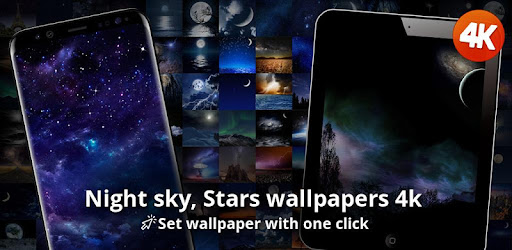 Night Sky Stars Wallpapers 4k Apps On Google Play