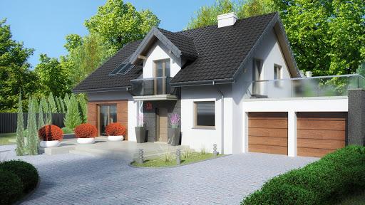 projekt Dom przy Alabastrowej 12