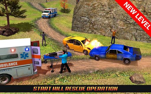 Code Triche Ambulance Rescue Driving 2017 mod apk screenshots 3