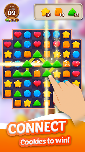 Cookie Crunch: Link Match Puzzle  screenshots 2