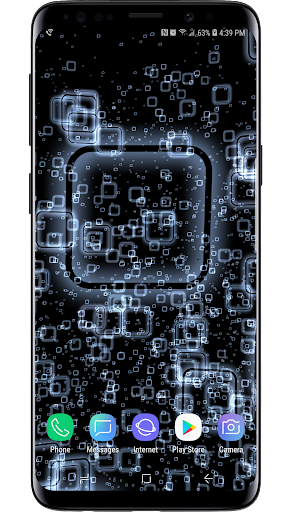 Screenshot for 3D Abstract Live Wallpaper in United States Play Store