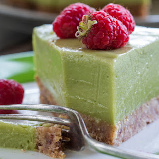 Avocado, Lime and Coconut 'Cheese' Cake