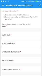 IDTRACK - GPS Server Reseller - náhled