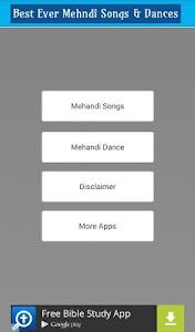 Mehndi Songs & Dance Videos screenshot 1