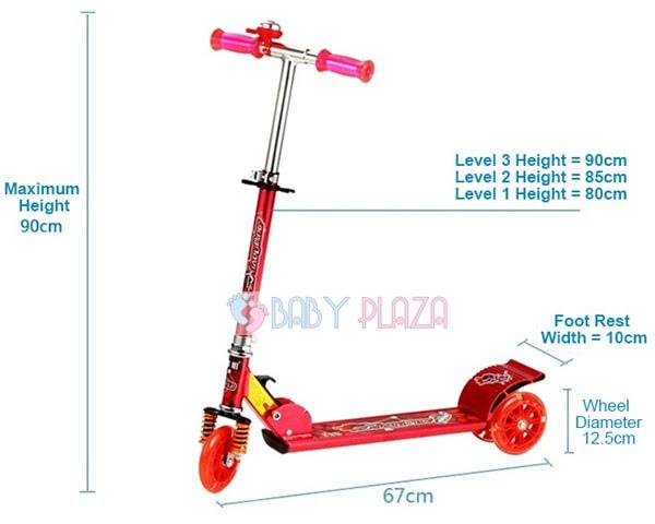 Xe trượt scooter cho bé XLM-2009C 2