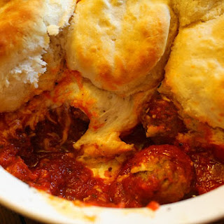 Biscuit Meatball Casserole