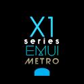 X1S Metro EMUI 5 Theme (Black) icon