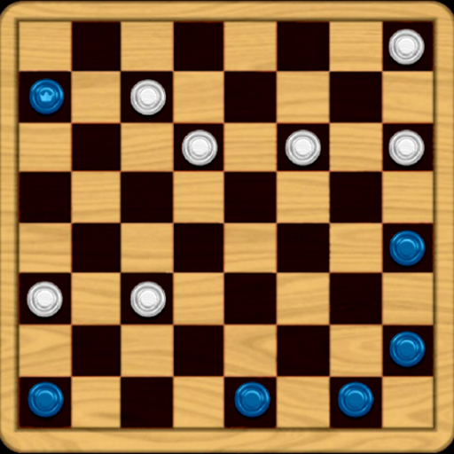 Classic Checkers Game