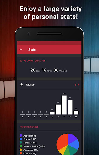 CineTrak: Your Movie and TV Show Diary 0.7.6 screenshots 8
