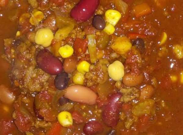 Anything Goes Chili Recipe