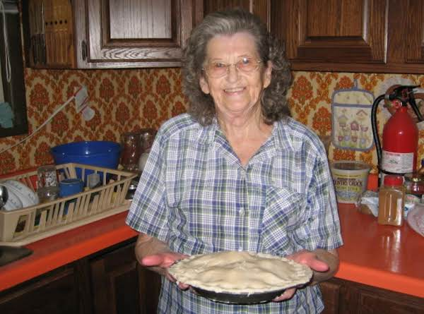 My Mom's Pie Crust Recipe
