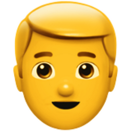 Blond-Haired Man Emoji (U+1F471, U+200D, U+2642, U+FE0F)