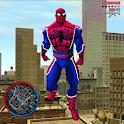 Super Rope Hero Spider Open World Street Gangster icon