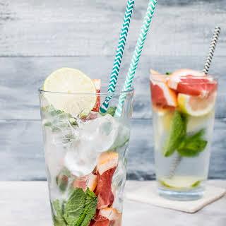 Banish the Bloat with Infused Detox Water.