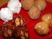 Drop from a teaspoon into hot oil and fry about 2 minutes on each...