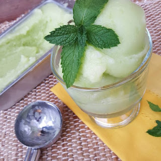 Honeydew Melon Sorbet